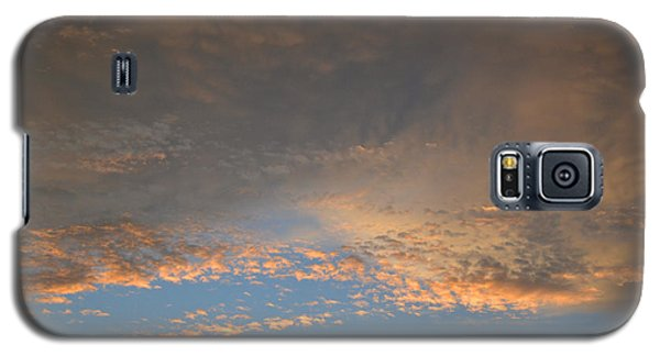 Galaxy S5 Case featuring the photograph Clouds Above Trees 2  by Lyle Crump