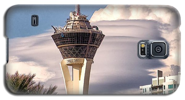 Galaxy S5 Case featuring the photograph Clouds Make Vegas by Michael Rogers