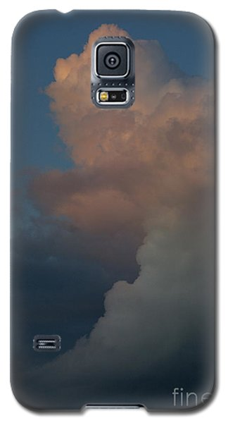 Galaxy S5 Case featuring the photograph Clouds Meeting by Tannis  Baldwin