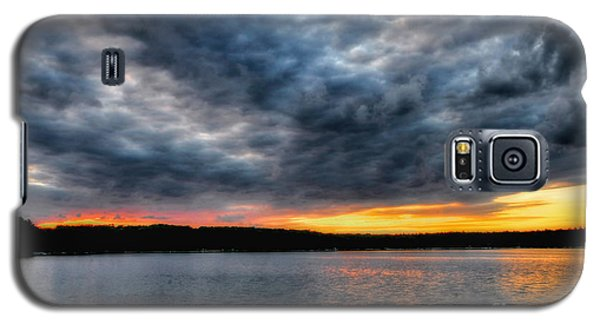 Galaxy S5 Case featuring the photograph Clouds Over Big Twin Lake by Trey Foerster