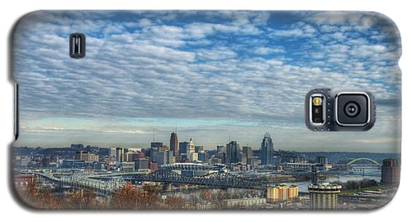 Clouds Over Cincinnati Galaxy S5 Case