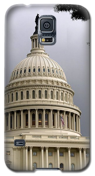 Clouds Over Congress Galaxy S5 Case