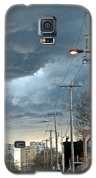 Clouds Over Philadelphia Galaxy S5 Case