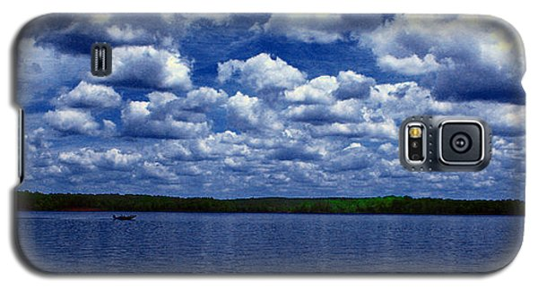 Clouds Over The Catawba River Galaxy S5 Case by Andy Lawless