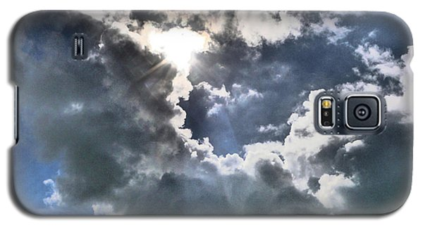 Galaxy S5 Case featuring the photograph Clouds by Winifred Butler