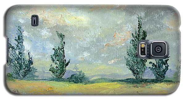 Cloudy Landscape Before The Rain Galaxy S5 Case