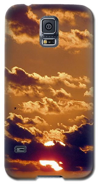 Key West Cloudy Sunset Galaxy S5 Case