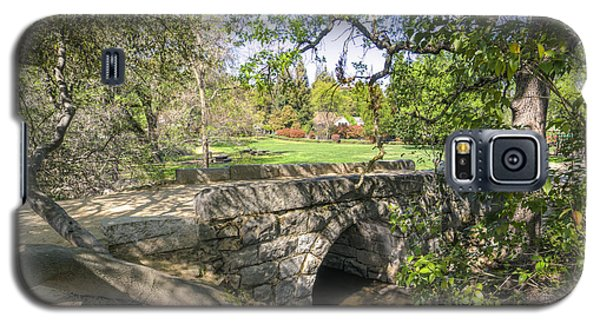 Clover Valley Park Bridge Galaxy S5 Case by Jim Thompson
