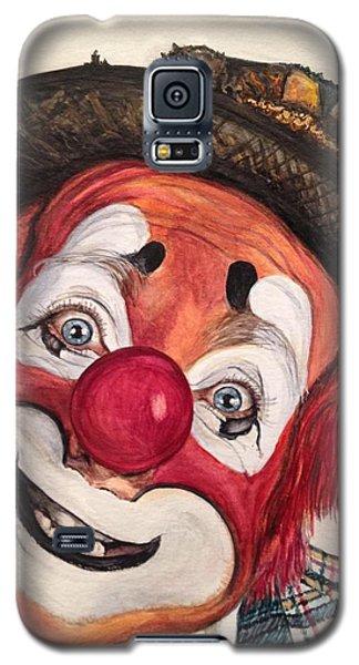 Watercolor Clown #14 Jonathan Freddes Galaxy S5 Case