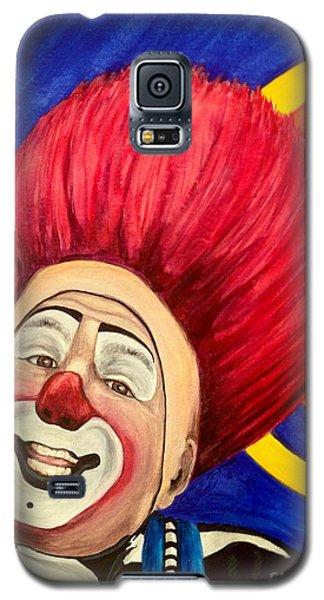 Watercolor Clown #17 Mark Carfora Galaxy S5 Case