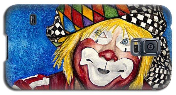 Watercolor Clown #16 Ron Maslanka Galaxy S5 Case