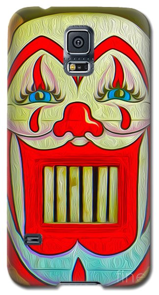 Galaxy S5 Case featuring the painting Clown Teeth by Gregory Dyer
