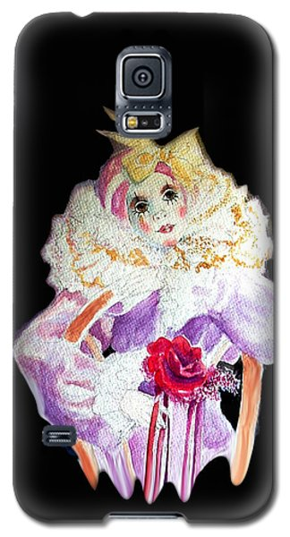 Clown Thinking Blank For You Galaxy S5 Case