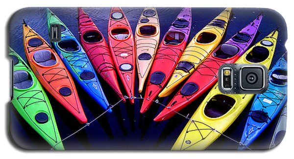 Clustered Kayaks Galaxy S5 Case
