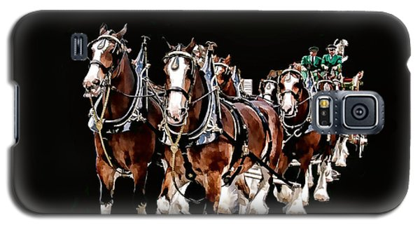 Clydesdales Hitch Galaxy S5 Case by Constantine Gregory