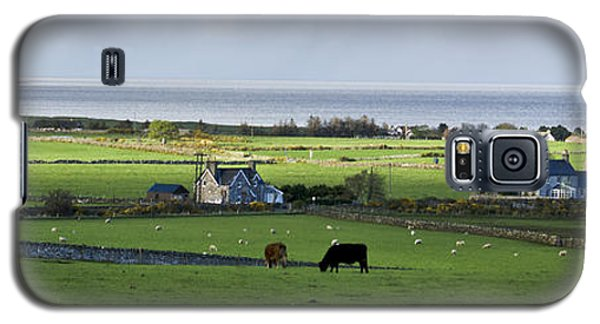 Galaxy S5 Case featuring the photograph Clyneview Panorama Scotland by Sally Ross