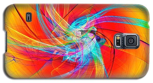 Cme Pinwheel Galaxy S5 Case
