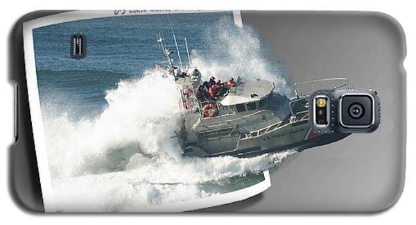 Coast Guard Galaxy S5 Case by Betty Depee