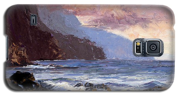 Coastal Cliffs Beckoning Galaxy S5 Case