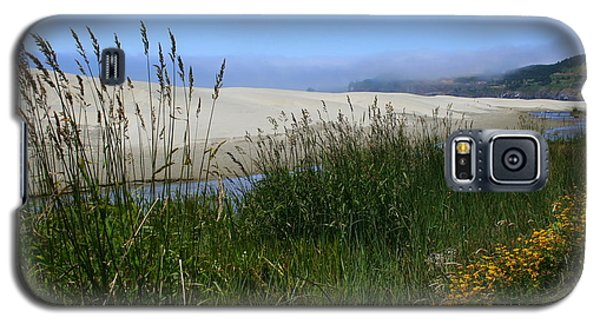 Galaxy S5 Case featuring the photograph Coastal Grasslands by Debra Kaye McKrill