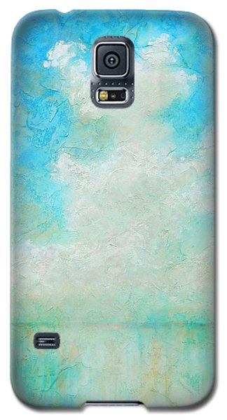 Galaxy S5 Case featuring the painting Coastal by Pam Talley