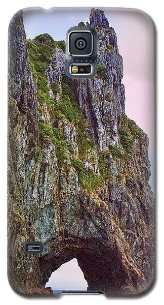 Coastal Rock Open Arch Galaxy S5 Case by Linda Phelps
