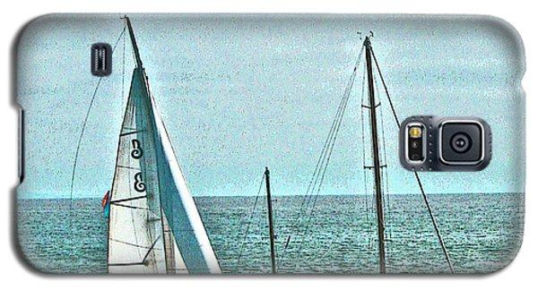 Coastal Sail Boats Galaxy S5 Case