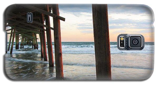 Coastal Sunset At Oceanana Fishing Pier Galaxy S5 Case