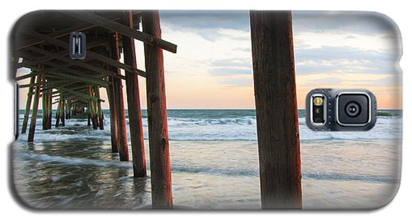 Coastal Sunset At Oceanana Fishing Pier Galaxy S5 Case