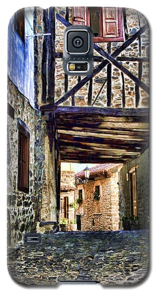 Cobble Streets Of Potes Spain By Diana Sainz Galaxy S5 Case
