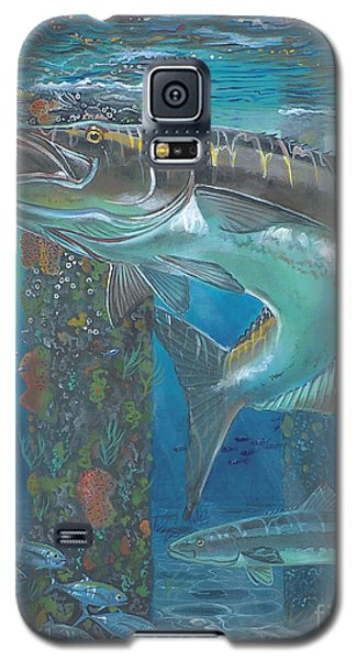 Cobia Strike In0024 Galaxy S5 Case by Carey Chen