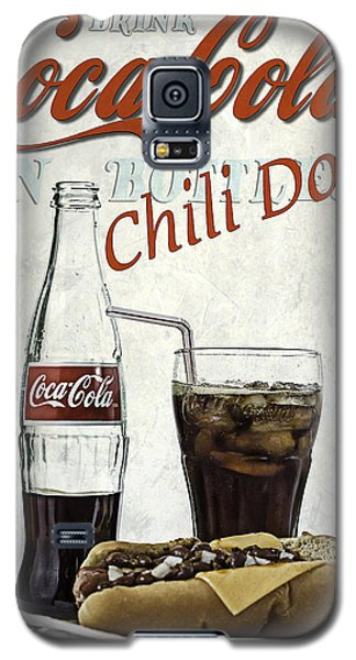 Coca-cola And Chili Dog Galaxy S5 Case