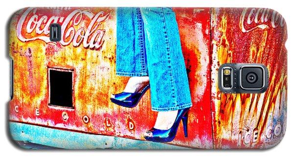 Coca-cola And Stiletto Heels Galaxy S5 Case