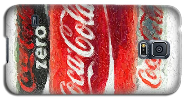Coca Cola Art Impasto Galaxy S5 Case