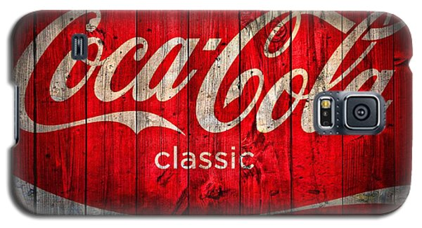 Coca Cola Barn Galaxy S5 Case