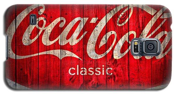 Coca Cola Barn Galaxy S5 Case