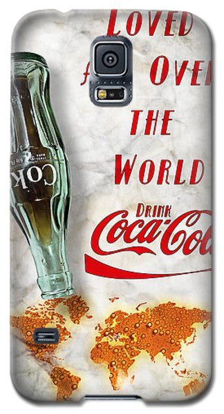 Coca Cola Loved All Over The World 2 Galaxy S5 Case