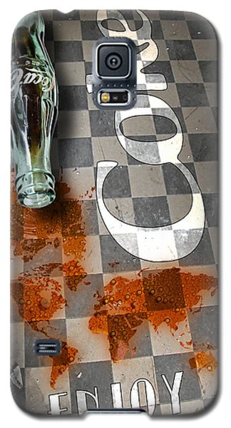 Coca Cola Loved All Over The World 3 Galaxy S5 Case