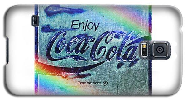 Coca Cola Rainbow Galaxy S5 Case