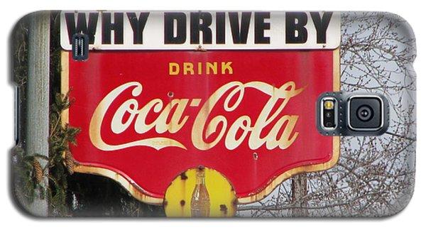 Coca-cola Sign Galaxy S5 Case