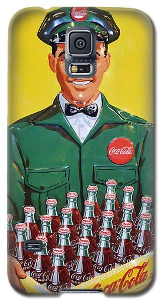 Coca Cola Vintage Galaxy S5 Case