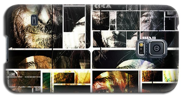 Galaxy S5 Case featuring the photograph Coca In Part 5 Collage  by Sir Josef - Social Critic - ART