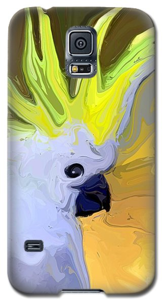 Cockatoo Galaxy S5 Case by Chris Butler
