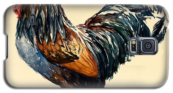 Cockerel Galaxy S5 Case by Alison Cooper