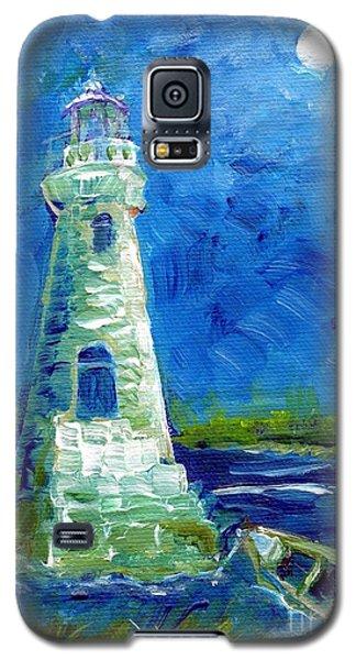 Cockspur Lighthouse Mini #7 Galaxy S5 Case by Doris Blessington