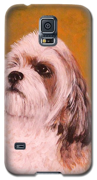 Galaxy S5 Case featuring the painting Coco-puffs by Janet Greer Sammons