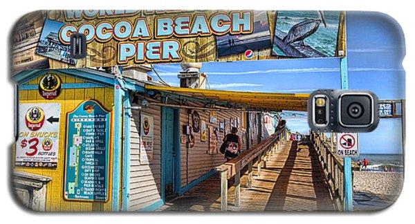 Cocoa Beach Pier In Florida Galaxy S5 Case