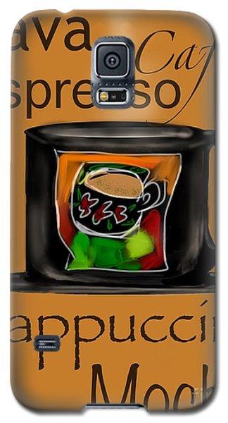 Coffee Break Galaxy S5 Case by Christine Fournier