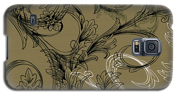 Coffee Flowers 3 Olive Galaxy S5 Case