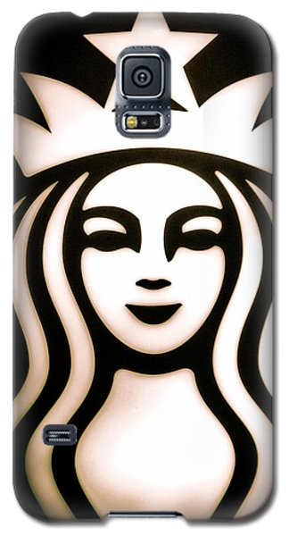 Coffee Queen Galaxy S5 Case by Spencer McDonald